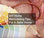 DIY home remodeling tips